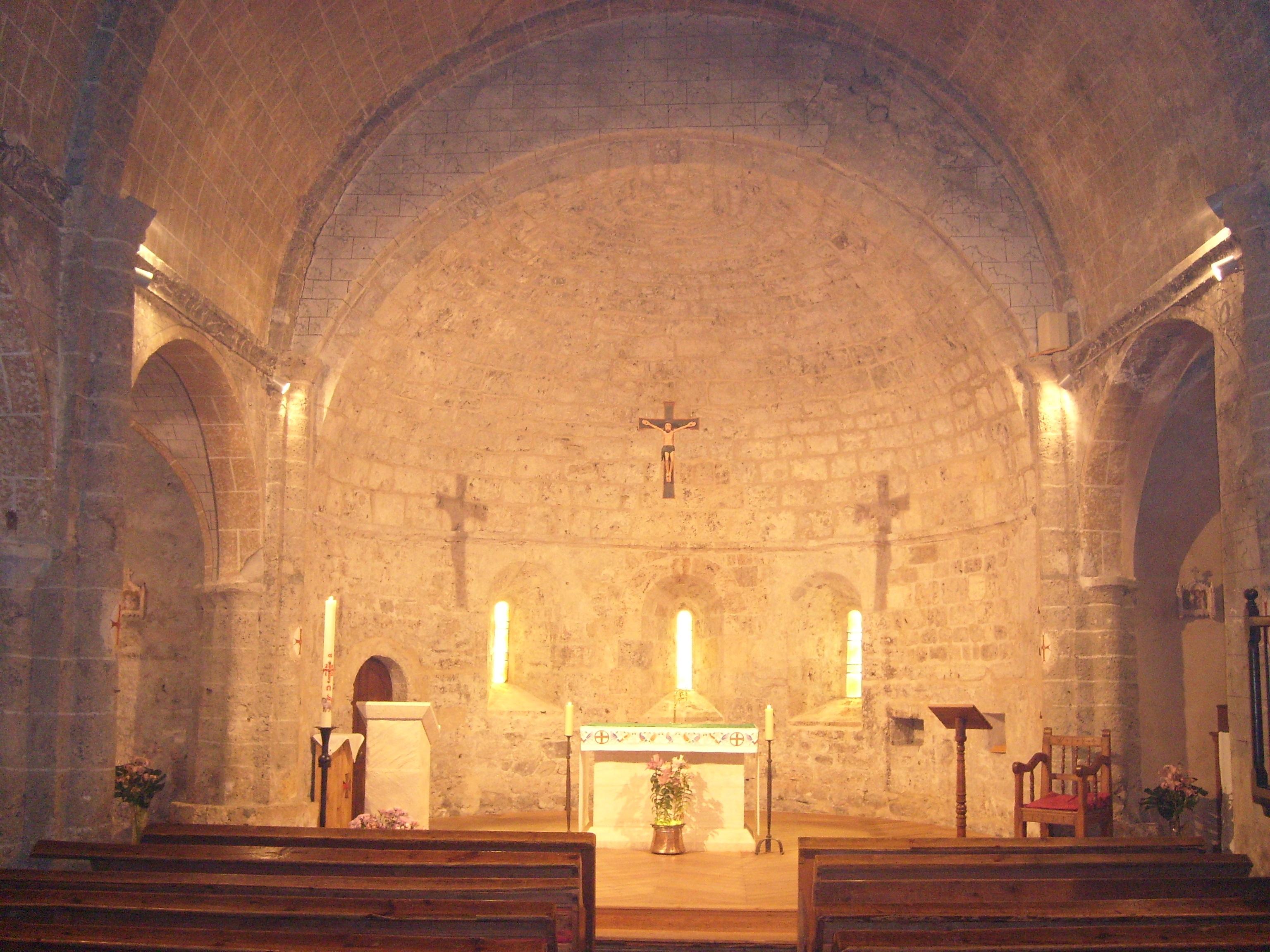 L'église de la Grave en 2011